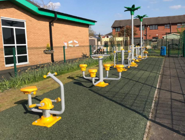 Fitness Equipment - Playground Projects