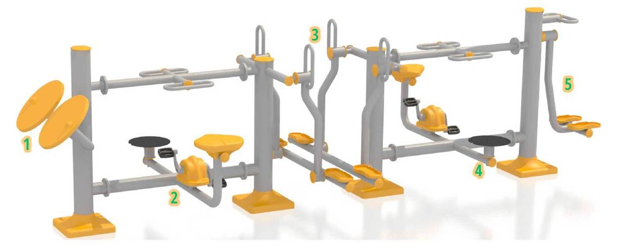 MAXI FIT - fitness equipment